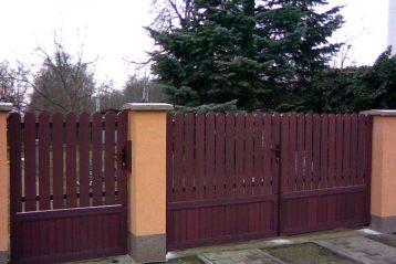 parkany ogrodzenia